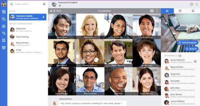 Alcatel-Lucent Enterprise Rainbow new look