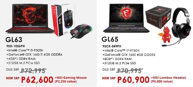 MSI Halloween Flash Sale Gaming Laptops