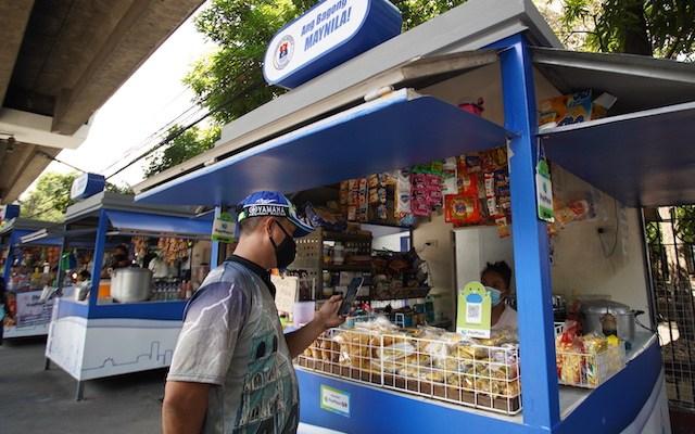 PayMaya-Manila Cashless Stalls