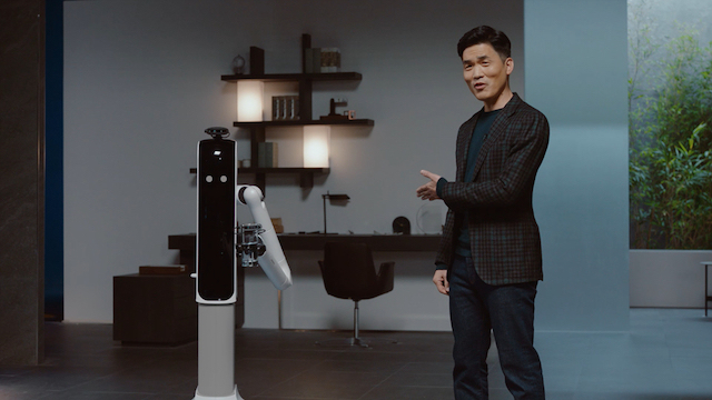 Samsung CES 2021 AI Robots x Sebastian Seung, president and head of Samsung Research