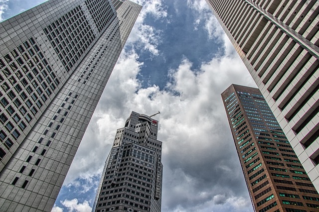 Skyscrapers High-Rise Building