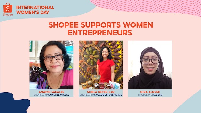 Shopee recognizes three women entrepreneurs making a difference in e-commerce