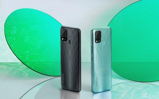 Infinix Hot 10S Black & Green