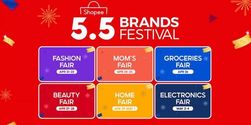 Shopee 5.5 Brands Festival 2021