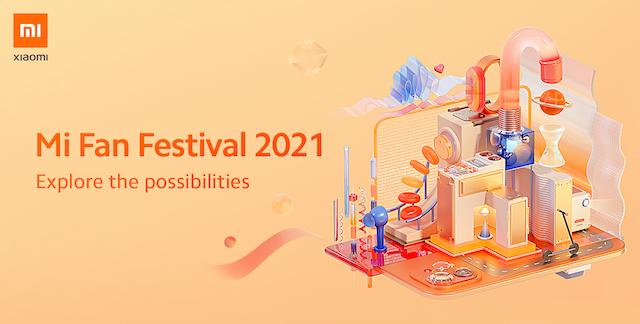 Xiaomi Mi Fan Festival MFF 2021