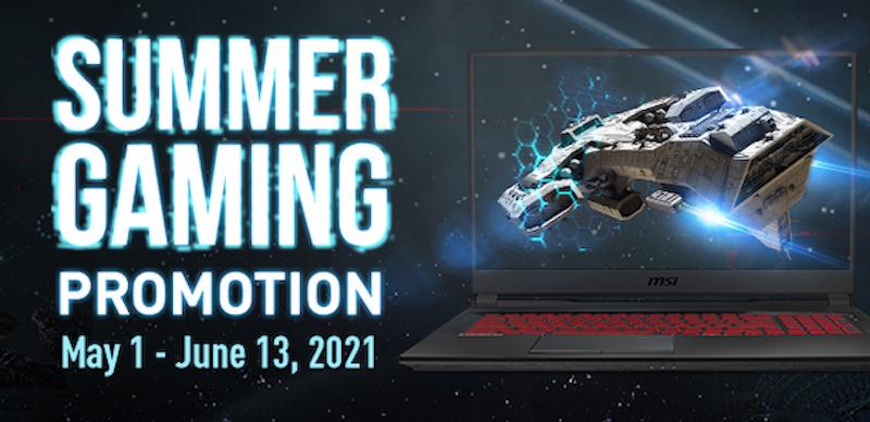 MSI Summer Gaming Promo