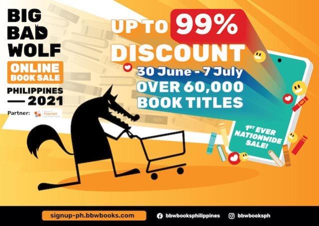 Big Bad Wolf Book Sale Philippines BBW PHILIPPINES 2021