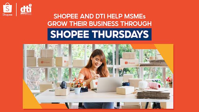 Shopee X DTI - Shopee Thursdays
