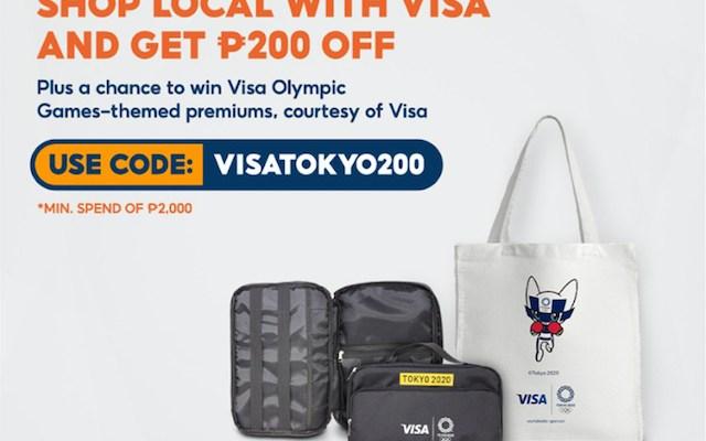 Visa Olympic Games Shopee
