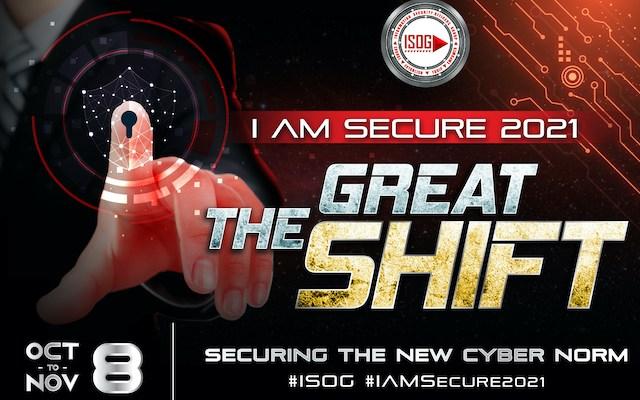 ISOG Cybersecurity Summit Oct. 8-Nov. 8