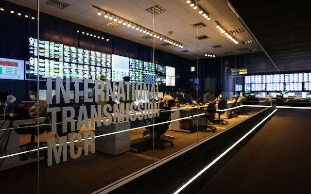OBS International Transmission MCR Room