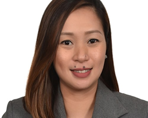 Charleen Caban as Territory Channel Manager for the Philippines at Kaspersky