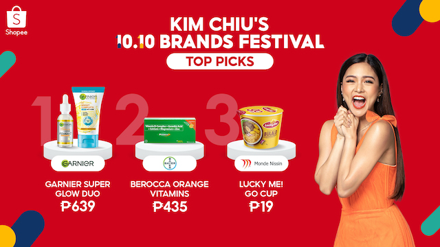 Shopee 10.10 Brands Festival Kim Chiu