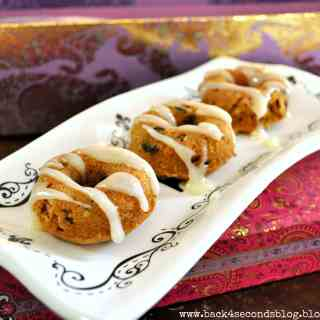 Coconut Carrot Mini Cakes by: Back For Seconds #carrotcake #mini