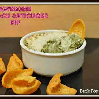 Awesome Spinach Artichole Dip #spinachdip #artichokedip #healthy