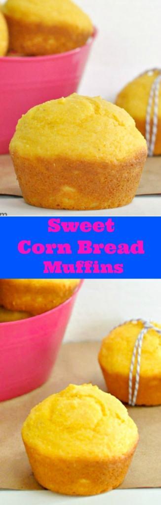 Sweet Cornbread Muffins with a Surprise Secret Ingredient!