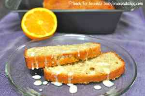 Banana Orange Bread by Back For Seconds #breakfast #recipe #quickbread #banana #orange #glaze