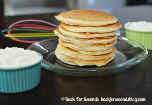 Easy Instant Pancakes