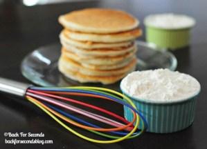Easy Homemade Instant Pancake Mix