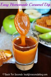 Easy Homemade Caramel Dip