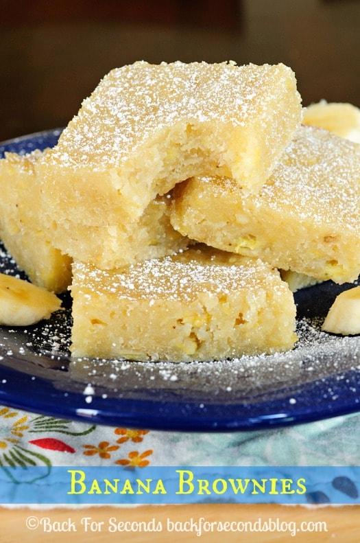 How to Make Brownies using bananas