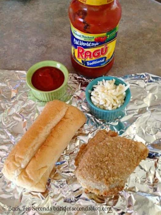Easy Chicken Parmesan Sandwiches #NewTradish