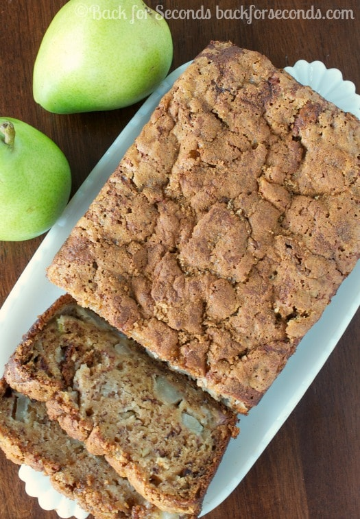 Easy Pear Banana Bread Recipe
