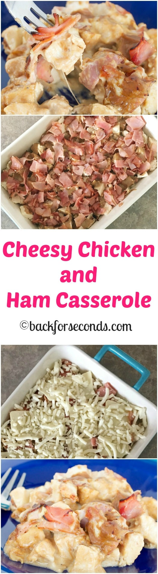 Chicken Cordon Bleu Casserole