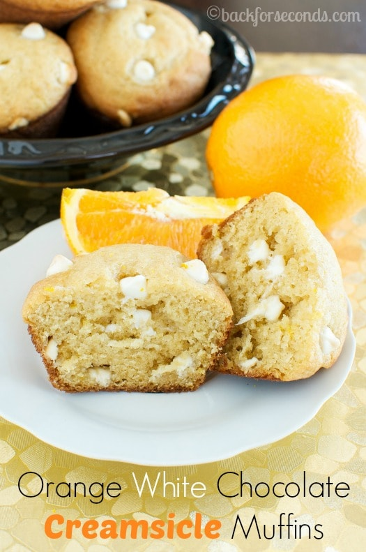 Light and Fluffy Creamsicle Muffins Recipe
