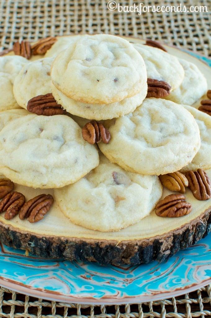 Homemade Pecan Sandies Cookies Recipe