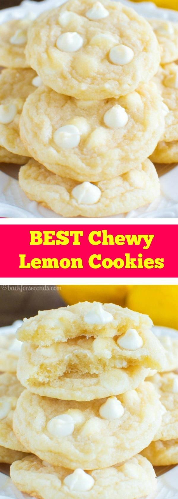 Best Chewy Lemon Cookies