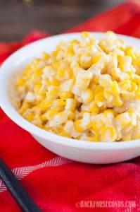 Cream Cheese Corn Made in the Crock Pot