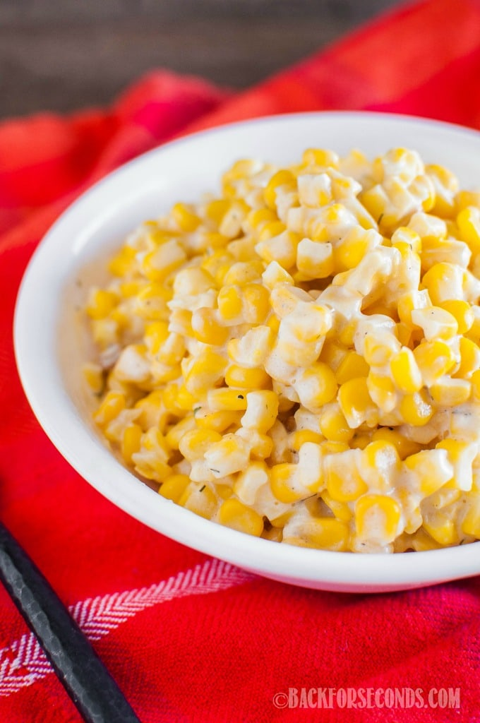Cream Cheese Corn In The Crock Pot Back For Seconds
