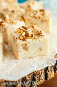 Easy Salted Maple Nut Fudge