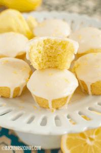 Glazed Lemon Bites