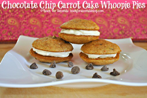 Chocolate Chip Coconut Carrot Cake Whoopie Pies