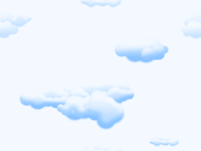 Puffy Clouds Pattern  Background Labs
