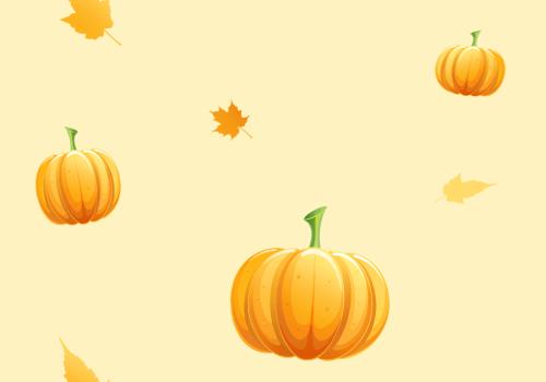 Fall Pumpkin Iphone Wallpaper Seamless Pumpkin Pattern Background Labs