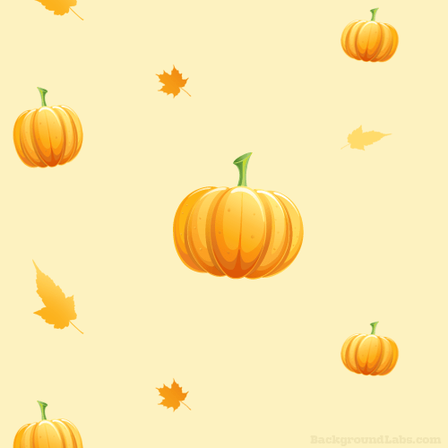 Fall Leaves Wallpaper Powerpoint Background Seamless Pumpkin Pattern Background Labs