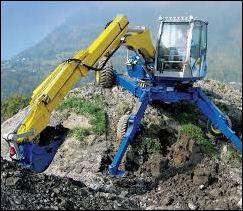 spider excavators kaiser excavators