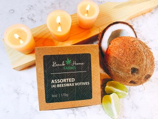 Coconut & Lime Beeswax Votives