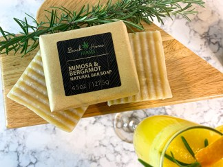 Mimosa & Bergamot Natural Bar Soap
