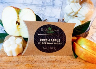 Fresh Apple Beeswax Melts