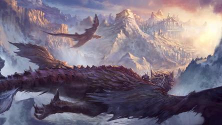 fantasy artwork 4k dragon dragons hd digital wallpapers resolution ultra backiee