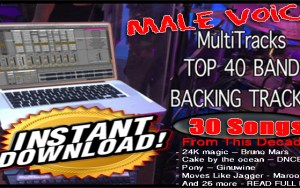 103 STEMS PACKS – Instant Download – 70s 80s & 90s 00 Rock