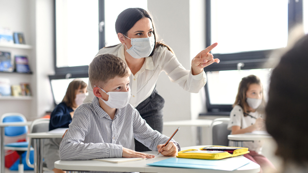 Covid infection rates as much as 333% higher for some teachers