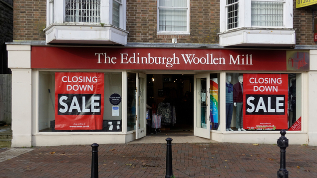 Edinburgh Woollen Mill, Bonmarché and Ponden Home deal saves 2,000 jobs