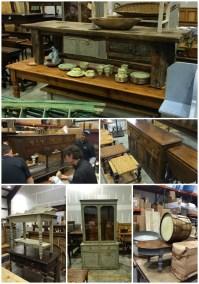 Antique rustic furniture