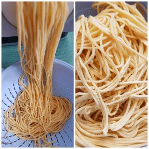 Spaghetti selbstgemacht Pastamaker