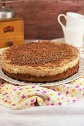 Torte mit Schokolade